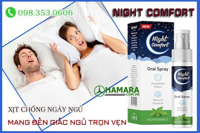 Night comfort chữa ngủ ngáy